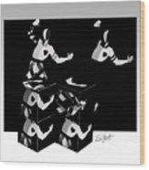 Bauhause Ballet Wood Print