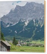 Bavarian Alps Landscape Wood Print