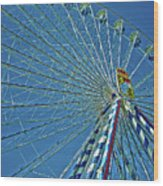 Bavarian Fairy Wheel Wood Print