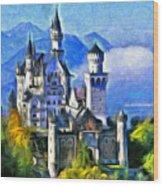 Bavaria's Neuschwanstein Castle Wood Print
