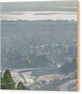 Bay Area Traffic Wood Print