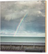 Bay Of Rainbows Wood Print