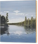 Bay On Lake Muskoka Wood Print
