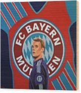 Bayern Munchen Painting Wood Print