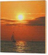 Bayfield Sunset - 1 Wood Print