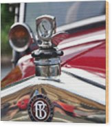 Bayliss Thomas Badge And Hood Ornament Wood Print