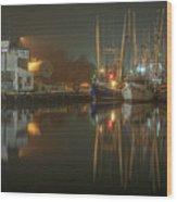 Bayou Fog #2 Wood Print