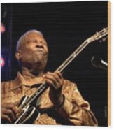 Bb King 2005 Wood Print