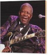 Bb King 2008 Wood Print