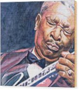 Bb King Wood Print