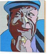 Bb King Wood Print