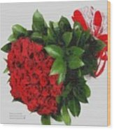 Be Mine Valentine By Presidential Candidate Catherine Lott Wood Print