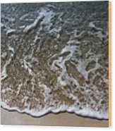 Beach At Grand Turk Ocean Beauty Wood Print