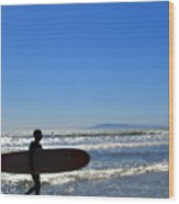 Beach Boy 2 Wood Print