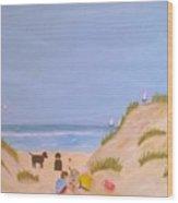 Beach Boys Wood Print