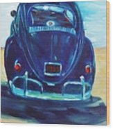 Beach Bug Wood Print