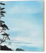 Beach Dreams On The Oregon Coast Wood Print