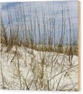 Beach Dunes Wood Print