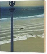 Beach And Coastal Lighting Wood Print