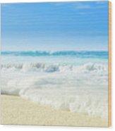 Beach Love Summer Sanctuary Wood Print