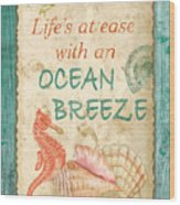 Beach Notes-jp3763 Wood Print