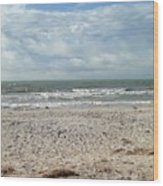 Beach Paradise Wood Print