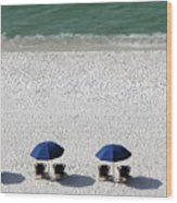 Beach Therapy 2 Wood Print