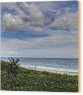 Beach Weather Wood Print