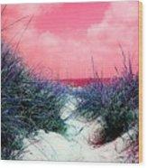 Beach Worx Wood Print