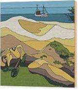 Beaches Wood Print