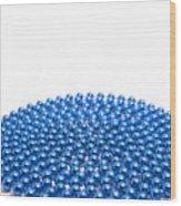 Bead Circle Ld Wood Print