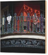 Beads In The French Quarter Wood Print