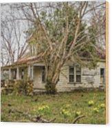 Beale Rd. In Bloom Wood Print