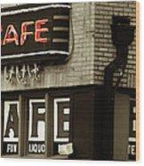 Beale Street, Memphis Wood Print