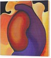 Bean Wood Print