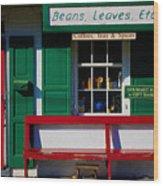 Beans, Leaves, Etc. Wood Print