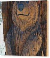 Bear Art Wood Print
