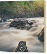 Bear Creek  Wood Print