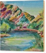 Bear Lake In Utah Wood Print