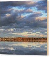 Bear Lake Michigan At Sunrise Wood Print