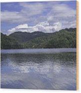 Bear Lake North Carolina Wood Print