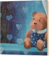 Bear Wood Print