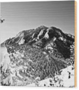 Bear Peak Wood Print