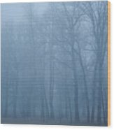 Bear Trees Wood Print