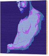 Beard Wood Print