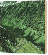 Beartooth Highway Wood Print