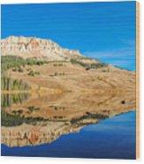 Beartooth Lake Wood Print