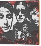 Beastie Boys Graffiti Tribute Wood Print