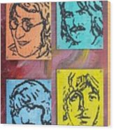Beatles Forever Wood Print