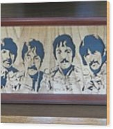 Beatles Sgt Pepper Wood Print